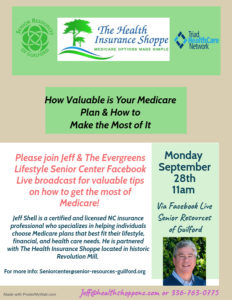 How to Get the Most of Medicare @ Facebook Live