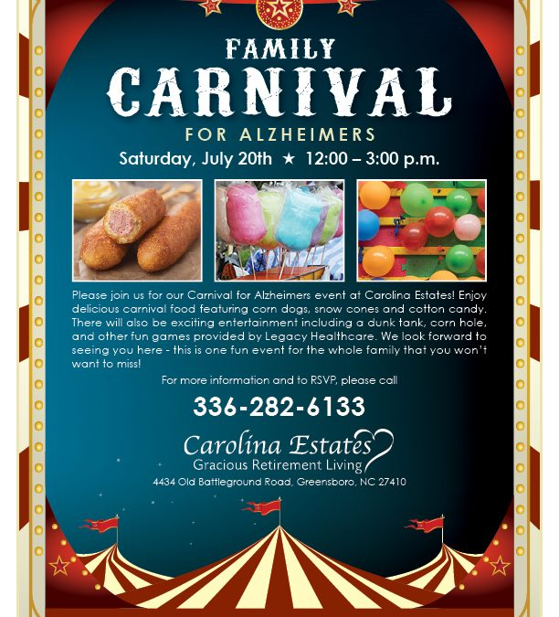 Family Carnival for Alzheimers