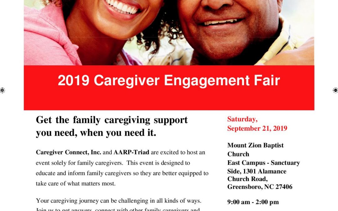 2019 Caregiver Engagement Fair