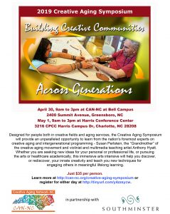 Creative Aging Symposium @ Harris Conference Center