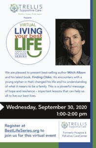 Living your Best Life Annual Speaker Series @ Virtual