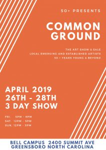 50+ Presents Common Ground Art Show @ CAN-NC Bell Campus