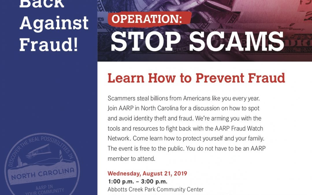 AARP Learn How to Prevent Fraud