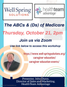 ABC & D's of Medicare @ Zoom