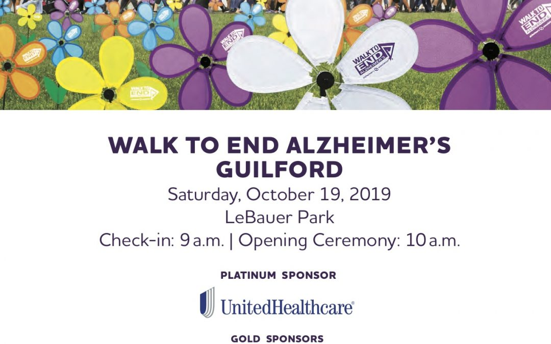 Guilford County Walk to End Alzheimers