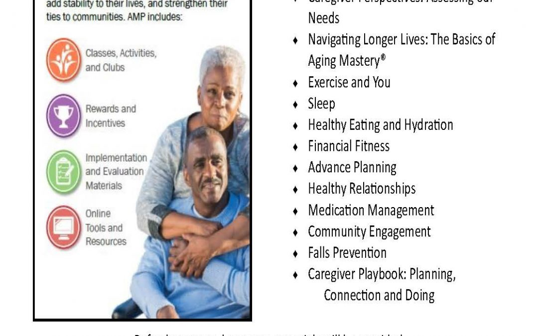 Aging Mastery Program for Caregivers – Week 1