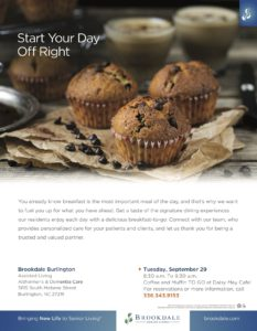 Start Your Day Off Right! Coffee & Muffins! @ Daisy May Café