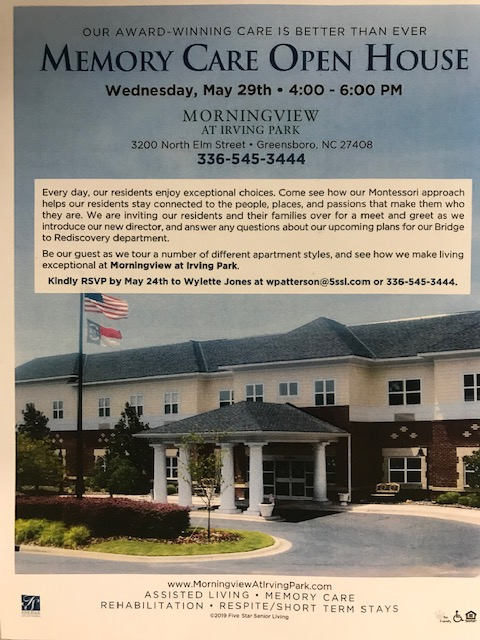 Memory Care Open House