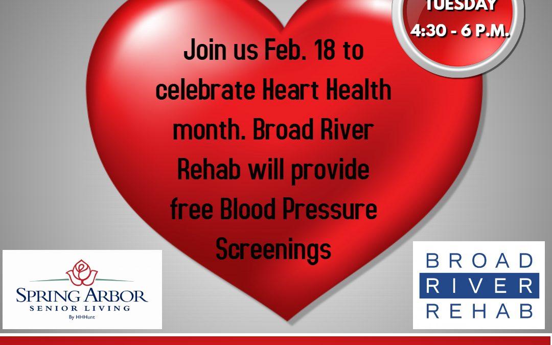Free Blood Pressure Screening
