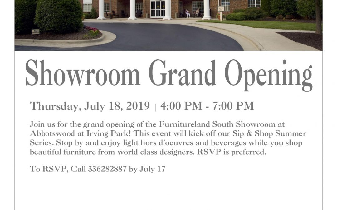 Showroom Grand Opening