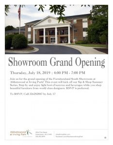 Showroom Grand Opening @ Abbotswood at Irving Park
