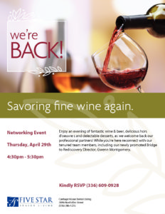 Carriage House Senior Living Networking Event @ Carriage House