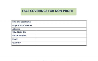 Does your non profit need masks?