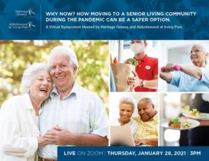 How moving to a senior living community now is a safer option.