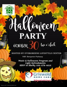Halloween Party @ Evergreens LIfestyle Center