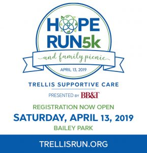 Trellis Supportive Care is having a 5K Run and Family Picnic @ Bailey Park