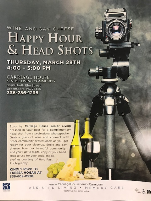 Happy Hour and Head Shots at Carriage House
