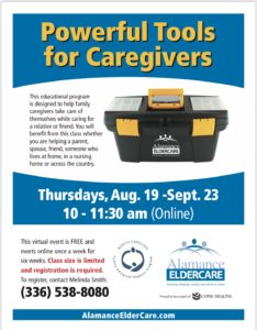 Powerful Tools for Caregivers @ online