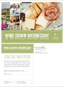 Wine Down with Heritage Greens @ Heritage Greens