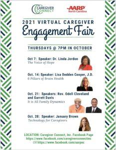 Caregiver Connect Virtual Engagement Fair @ Facebook