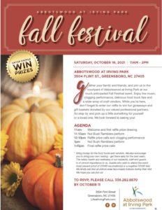 Fall Fest 2021 @ Abbotswood at Irving Park