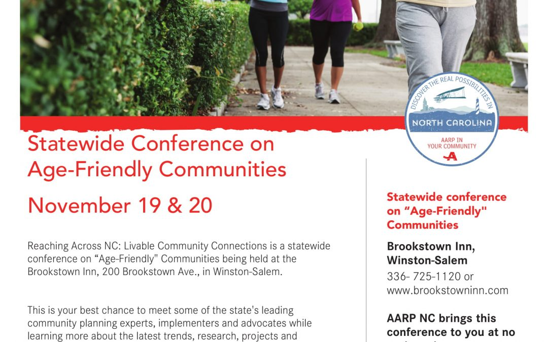 Statewide Conference on Age-Friendly Communities
