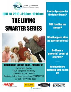 The Living Smarter Series @ Evergreen Center (lower level)