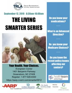 Your Health, Your Choices- Living Smarter Series @ The Evergreen Center