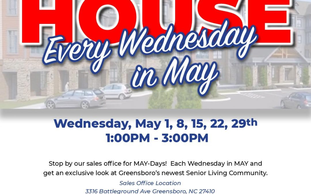 Exclusive Sneak Peak Open House Every Wednesday in May