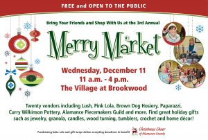 Merry Market at The Village at Brookwood @ The Village at Brookwood