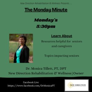 Monday Minute with Dr. Monica Tillett