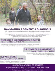 Navigating a Dementia Diagnosis @ Virtual