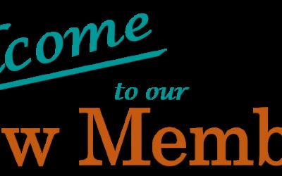 Welcome New Members Jan-May 2020