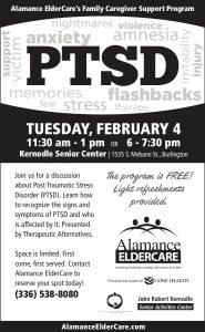 PTSD @ Kernodle Senior Center