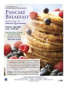Pancake Breakfast @ Morningview at Irving Park