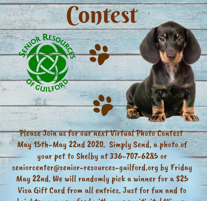 Pet Photo Contest!