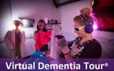 Carolina Pines participates in Virtual Dementia Training
