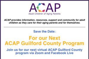 ACAP of Guilford @ Live