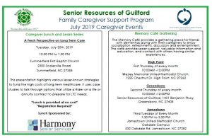 A Fresh Perspective on Long Term Care- Family Caregiver Support Program @ Summerfield First Baptist Church