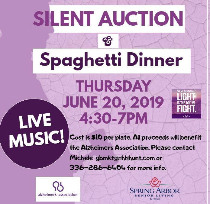 Silent Auction and Spaghetti Dinner