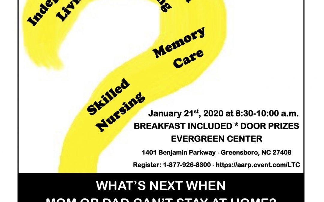Living Smarter Series January 21, 2020