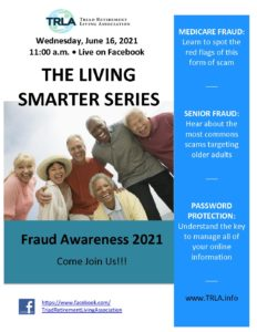 Living Smarter Series-Fraud Awareness @ Live on Facebook