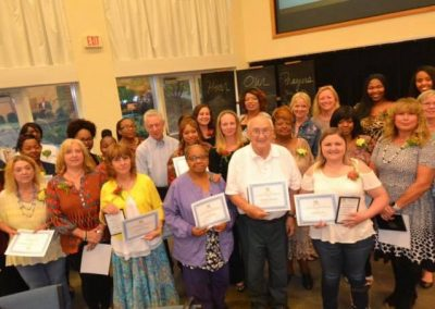 Elder Caregiver Appreciation recipients, sponsored by Griswold Home Care & Well-Spring Solutions