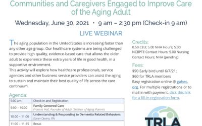 AHEC & TRLA Symposium Communities and Caregivers