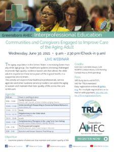 TRLA & AHEC Symposium @ Live Webinar