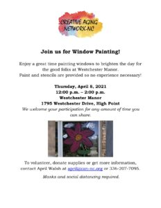 Window Painting Time! @ Westchester Manor