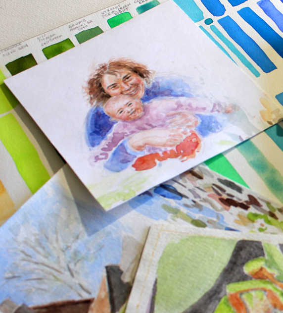 Understanding Color with Watercolor Painting, Part 1