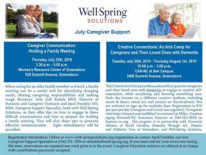 Caregiver Communication @ Women's Resource Center of Greensboro