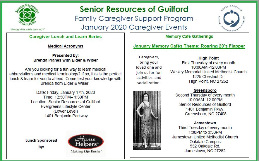 Caregiver Lunch & Learn Series