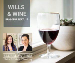 Wills & Wine @ Zoom